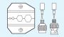 Matrice per RG58 / RG59